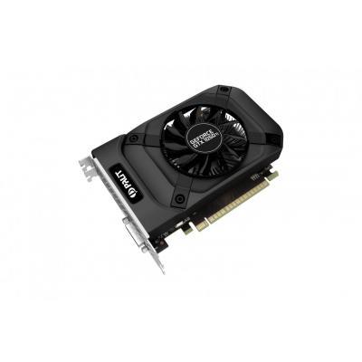 Palit videokaart: GeForceGTX 1050 Ti StormX - Zwart