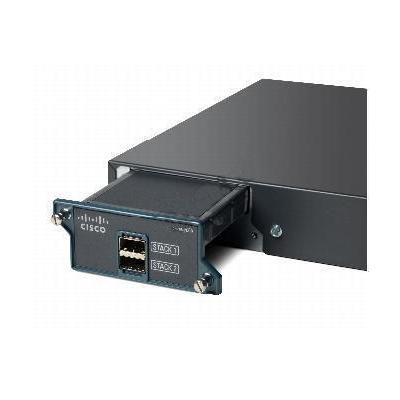 Cisco switchcompnent: Catalyst 2960S FlexStack Stack Module optional for LAN Base, spare - Zwart (Refurbished LG)
