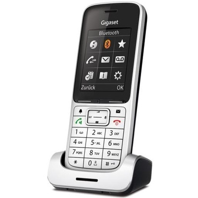 Gigaset SL450HX Dect telefoon - Zwart, Platina