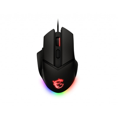 MSI CLUTCH GM20 ELITE Muis - Zwart