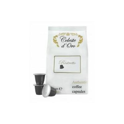 Celeste d'oro koffie: Ristretto voor Nespresso machine - 200 capsules