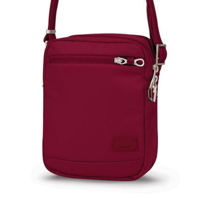 Pacsafe vrouwen-handtas: Citysafe CS75 - Rood