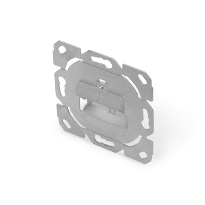 Digitus Face Plate w/o central plate, w/o frame, design compatible - Metallic