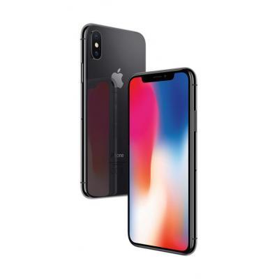 Apple smartphone: iPhone X 64GB Space Grey - Grijs (Refurbished LG)