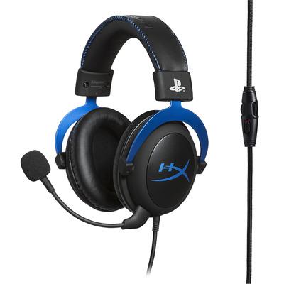 HyperX Cloud Headset - Zwart, Blauw