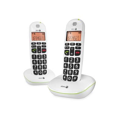 Doro PhoneEasy 100w duo Dect telefoon - Wit