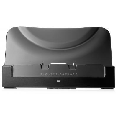 Hp mobile device dock station: ElitePad 1000 G2 Rugged Tablet Docking Adapter - Zwart