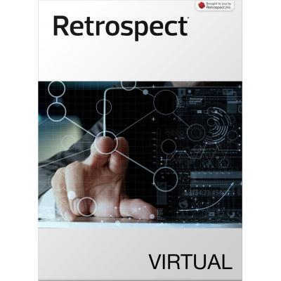 Retrospect backup software: Virtual - 1 VMWare host, 5 VMWare bundle