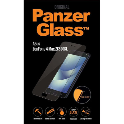 PanzerGlass Asus ZenFone 4 Max ZC520KL Edge-to-Edge Screen protector - Transparant