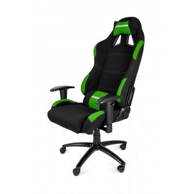 Akracing stoel: Gaming Chair Black Green