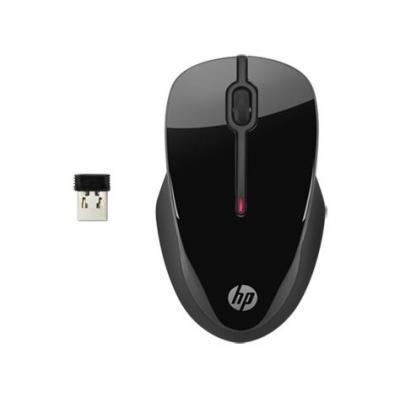 Hp computermuis: X3500 - Zwart