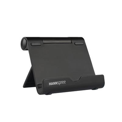 "Hannspree 25.654 cm (10.1"") , rubber, black Tablet case - Zwart"