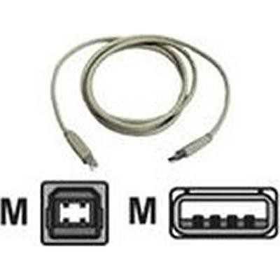 Zebra printerkabel: CL17305-1, Data Transfer Cable, grey, 2.4m - Grijs