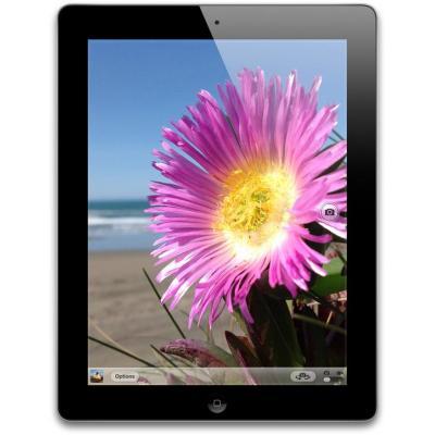 Apple tablet: iPad iPad 4 with Retina display with Wi-Fi 64GB - Black - Zwart (Refurbished LG)