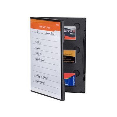 Gepe hoes: Card Safe Store CF - Zwart