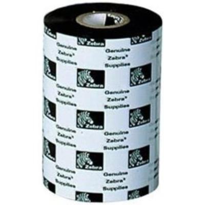 Zebra 3200 Wax/Resin Printerlint - Zwart