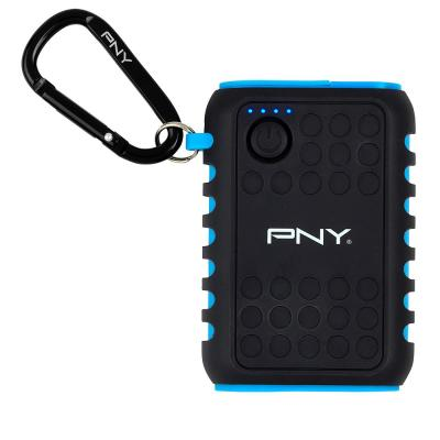 Pny : The Outdoor Charger - Zwart, Blauw