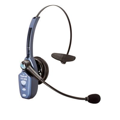 VXi B250-XTS Headset - Zwart, Blauw
