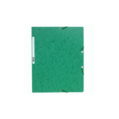 Exacompta ElastoNature Future zonder kleppen A4, 400 g/m², groen (verpakking 25 stuks) Map