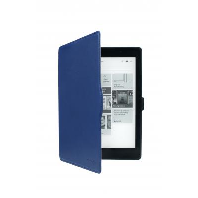 Gecko apparatuurtas: - Waterproof Slimfit Hoes voor Kobo Aura One (Blauw)