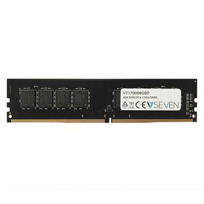 V7 8GB DDR4 PC4-17000 - 2133Mhz, CL15 RAM-geheugen - Zwart