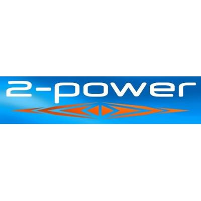 2-power netvoeding: AC Adapter Multi-fit - Zwart