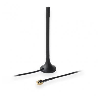 Teltonika WiFi antenna 2dBi magnetic type with 1.5m cable Antenne - Zwart