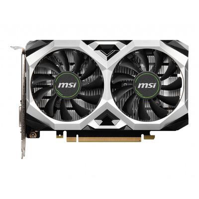 MSI NVIDIA GeForce GTX 1650, 4GB GDDR6, 128-bit, PCI Express x16 3.0, DL DVI-D, DP, HDMI, 179x115x42 mm Videokaart - .....