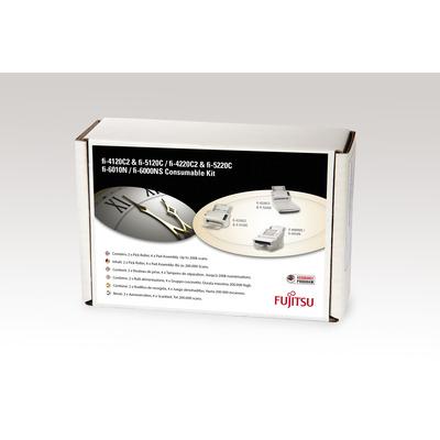 Fujitsu printing equipment spare part: Sets met verbruiksartikelen voor fi-6010N, fi-4120C2, fi-4220C2, fi-5120C, .....