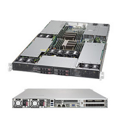Supermicro SuperServer 1028GR-TR Server barebone - Zwart
