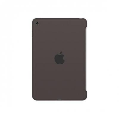Apple tablet case: Siliconenhoes voor iPad mini 4 - Cacao - Bruin
