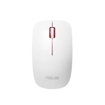 Asus computermuis: WT300 - Rood, Wit