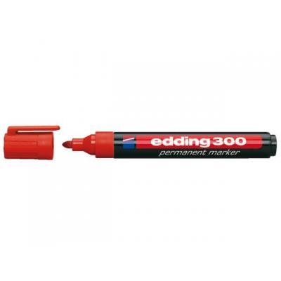 Edding markeerstift: OFC-ED300RD - Zwart, Rood