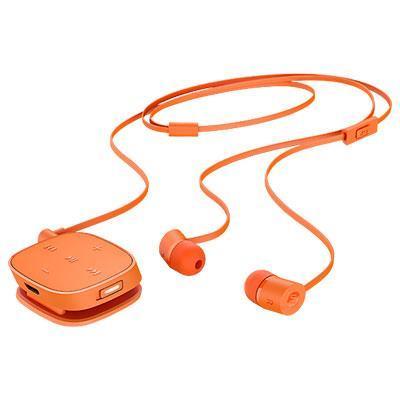 Hp koptelefoon: H5000 Neon Orange Bluetooth Headset
