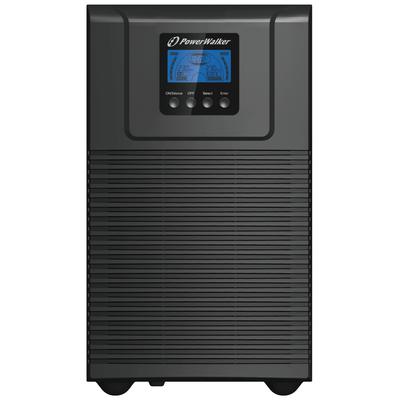 PowerWalker VFI 3000 TGB UPS - Zwart