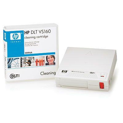 Hewlett Packard Enterprise DLT VS160 Cleaning Cartridge Reinigingstape - Wit