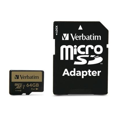 Verbatim Pro+ Flashgeheugen - Zwart