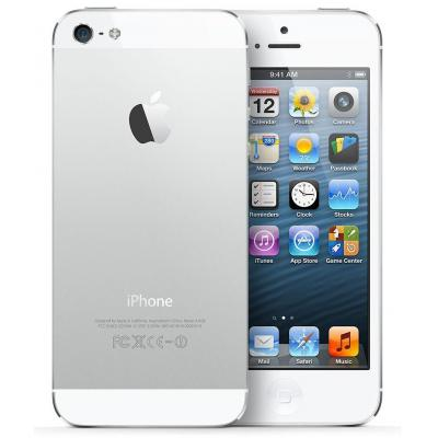 Apple smartphone: iPhone iPhone 5 32GB Wit - Zilver, Wit (Refurbished LG)