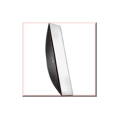 Walimex softbox: pro Softbox OL 25x150cm Visatec - Zwart, Wit