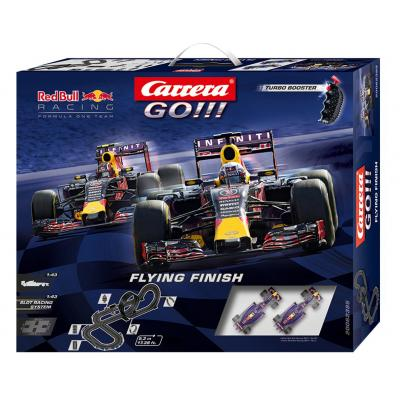 Carrera toys : Flying Finish Carerra GO - Multi kleuren