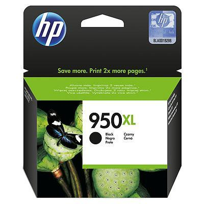 HP 950XL zwart voor o.a. OfficeJet 2624 & OfficeJet 4634 inktcartridge