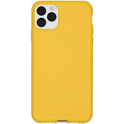 Antimicrobial Backcover iPhone 11 Pro Max - Yellow - Geel / Yellow Mobile phone case