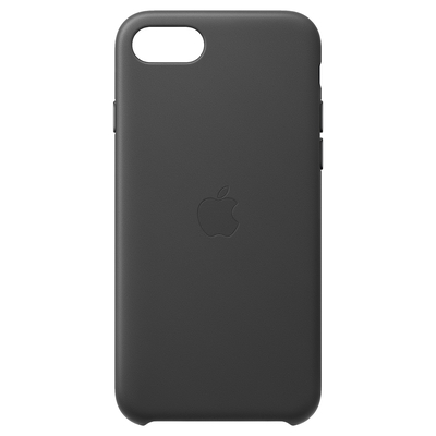 Apple Leren hoesje voor iPhone SE - Zwart Mobile phone case