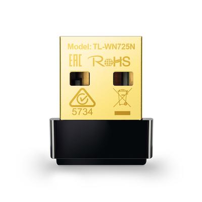 TP-LINK USB 2.0, LED, IEEE 802.11b, IEEE 802.11g, IEEE 802.11n, 2.400-2.4835GHz Netwerkkaart - Zwart