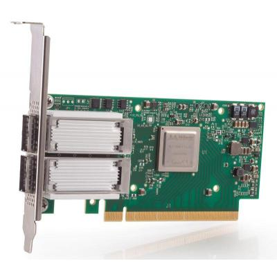Lenovo netwerkkaart: Mellanox ConnectX-4 2x100GbE/EDR IB QSFP28 VPI - Groen
