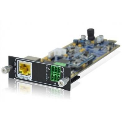 PTN-Electronics Seamless HDBaseT + audio outputkaart Interfaceadapter - Zwart, Groen, Zilver, Wit, Geel