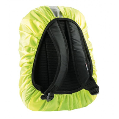 Mobilis Raincover for backpack, Water-repellent material - Geel