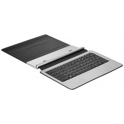 HP Keyboard (European), Black/Silver Mobile device keyboard - Zwart, Zilver