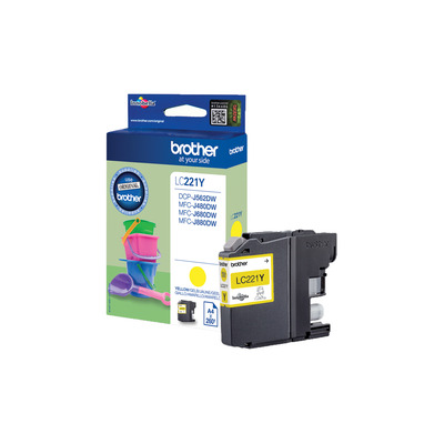 Brother LC-221Y inktcartridge