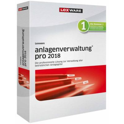 Lexware financiele analyse-software: anlagenverwaltung pro 2018